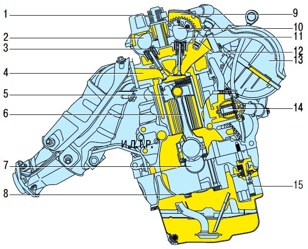 Двигатель Тойота Королла 10 Аурис
