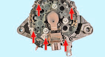 Ремонт генератора Тойота Королла 10 Аурис