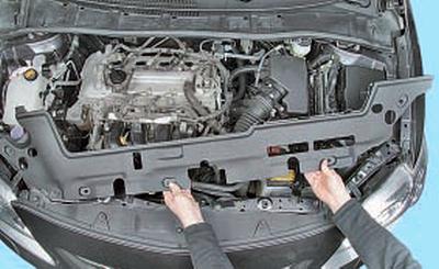 Снятие и установка генератора Тойота Королла 10 Аурис