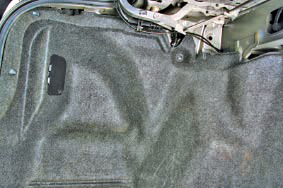 Замена заднего фонаря, расположенного на крыле Тойота Королла 10 Аурис