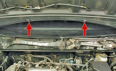 Снятие и установка капота Тойота Королла 10 Аурис