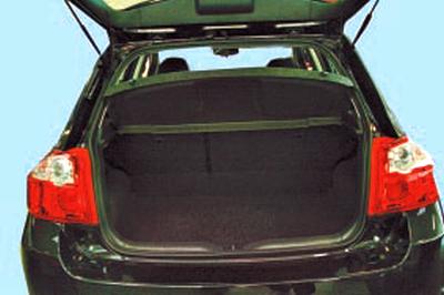 Багажное отделение автомобиля Тойота Королла 10 Аурис