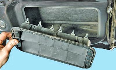 Особенности устройства системы вентиляции Тойота Королла 10 Аурис
