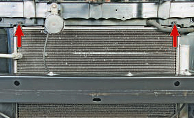 Замена конденсора Тойота Королла 10 Аурис
