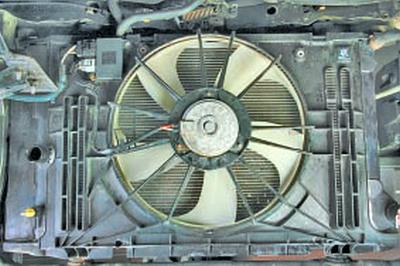 Система охлаждения Тойота Королла 10 Аурис