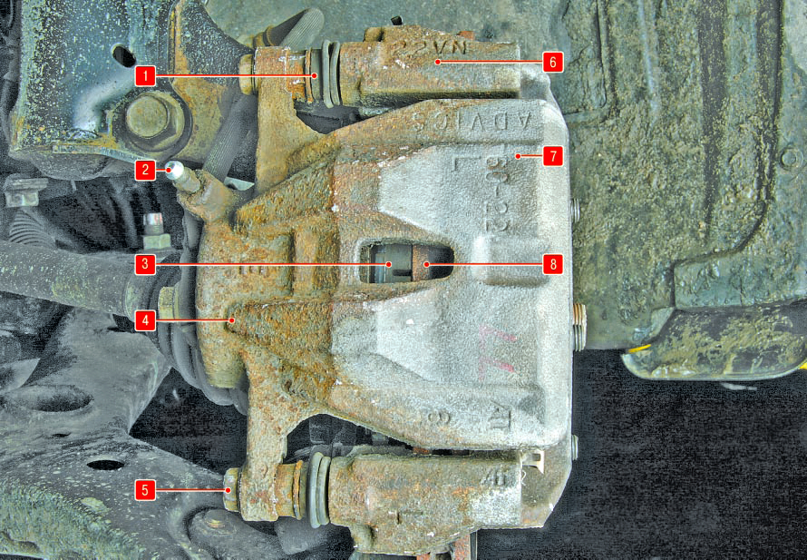 Тормозная система Тойота Королла 10 Аурис