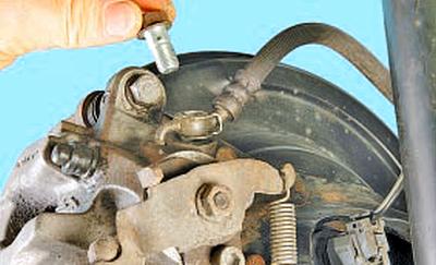 Замена тормозных шлангов Тойота Королла 10 Аурис